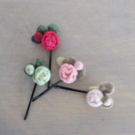Little rose hairpin