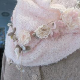 Fleurette necklace long