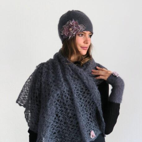 Mohair-scarf