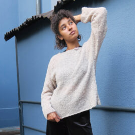 Pullover model Bouclet