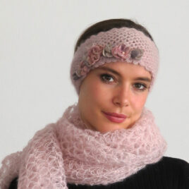 Stirnband; Headband; Modedesignerin Swiss;